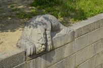 韩国景福宫勤政殿镇水兽石刻