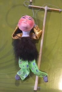 传统木偶戏工具展示