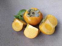 静物熟柿子