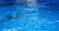 蓝色海水背景
