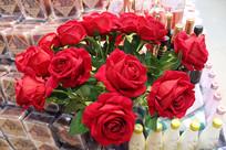 玫瑰花一束