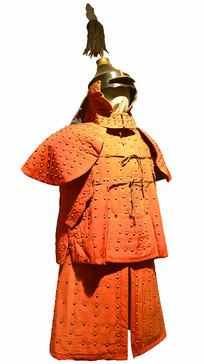 清代八旗-正红旗盔甲制服
