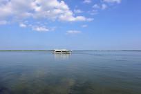 上海滴水湖的风景