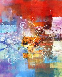 抽象艺术室内装饰画