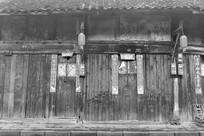 老成都老房子黑白照