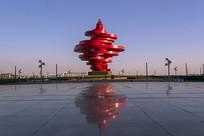 城市雕塑-五月的风