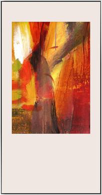 写真抽象油画素材