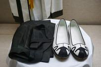 韩国传统初嘉礼礼服鞋帽特写