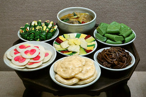 韩国春季传统饮食