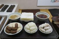 韩国春节茶果餐桌