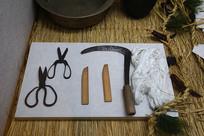 韩国老式接生工具和禁条