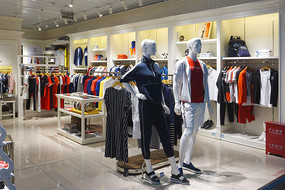 青岛流亭机场服装店及商品