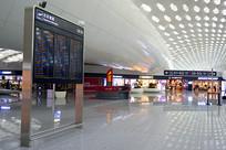 深圳宝安机场LED航班信息栏