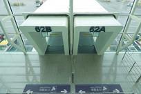 深圳机场登机口及廊桥俯拍