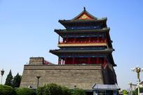 北京正阳门城楼建筑外景
