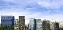 日本东京城区的建筑