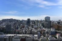 日本东京城市建筑群