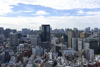 日本东京的城市风光