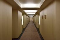 日本东京巨蛋酒店的走廊