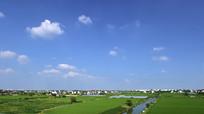 乡村田野风景