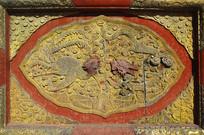 北京故宫乾清宫龙凤呈祥木雕