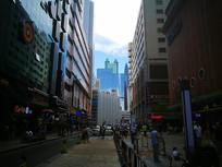 步行街高楼
