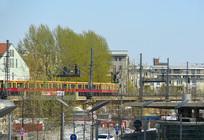 德国柏林市城市轻轨交通