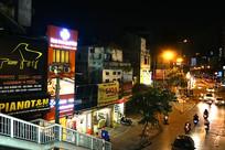 越南河内夜景