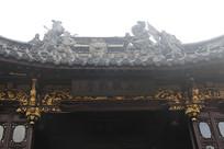 古戏台雕花