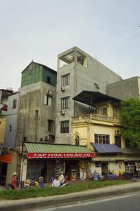 北宁省城镇街景