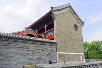 北京陶然亭慈悲庵建筑外景