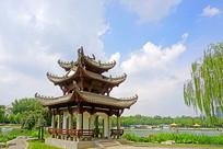 北京陶然亭公园风雨同舟亭