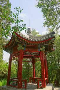 北京陶然亭公园瞰秋亭
