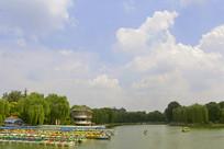 北京陶然亭公园游船码头