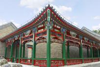 北京陶然亭-中式回廊