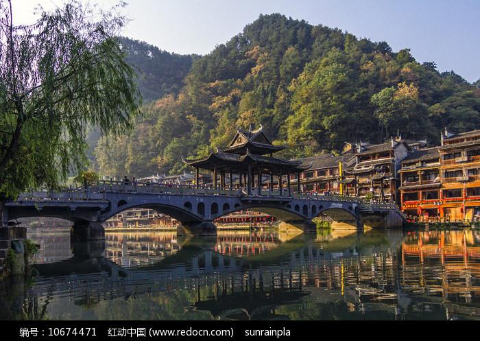 风桥秋韵图片
