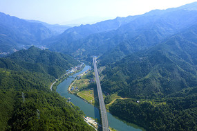 高山大河高速公路