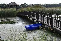 小桥流水亭子