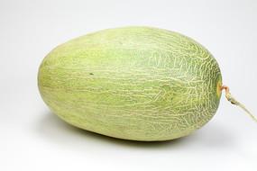 一个绿色的哈蜜瓜