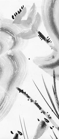 中式风格水墨画