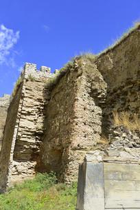 阿坝松潘古城古城墙遗迹