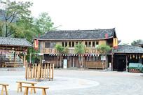 瑶族建筑风光