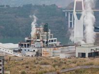 重庆云阳郊外正在生产的工厂