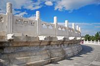 北京天坛祈年殿云望柱和龙头