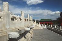 北京天坛云望柱和凤出水