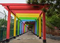 彩虹长廊园林建筑