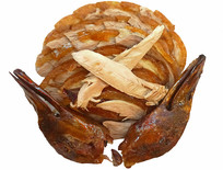 果木烤鸭-北京烤鸭