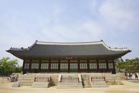 韩国景福宫修政殿