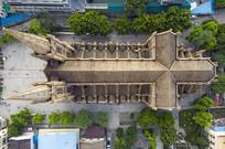 鸟瞰广州圣心大教堂