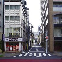 日本东京街头的中式餐馆